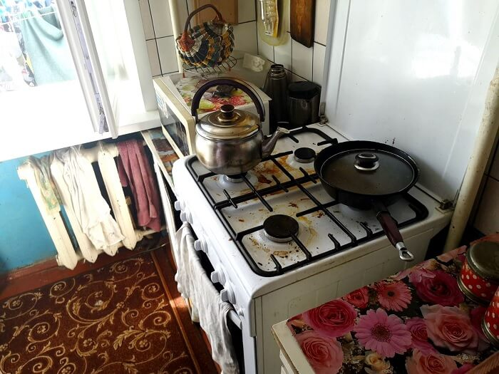 Подгорание пищи в Барановичах