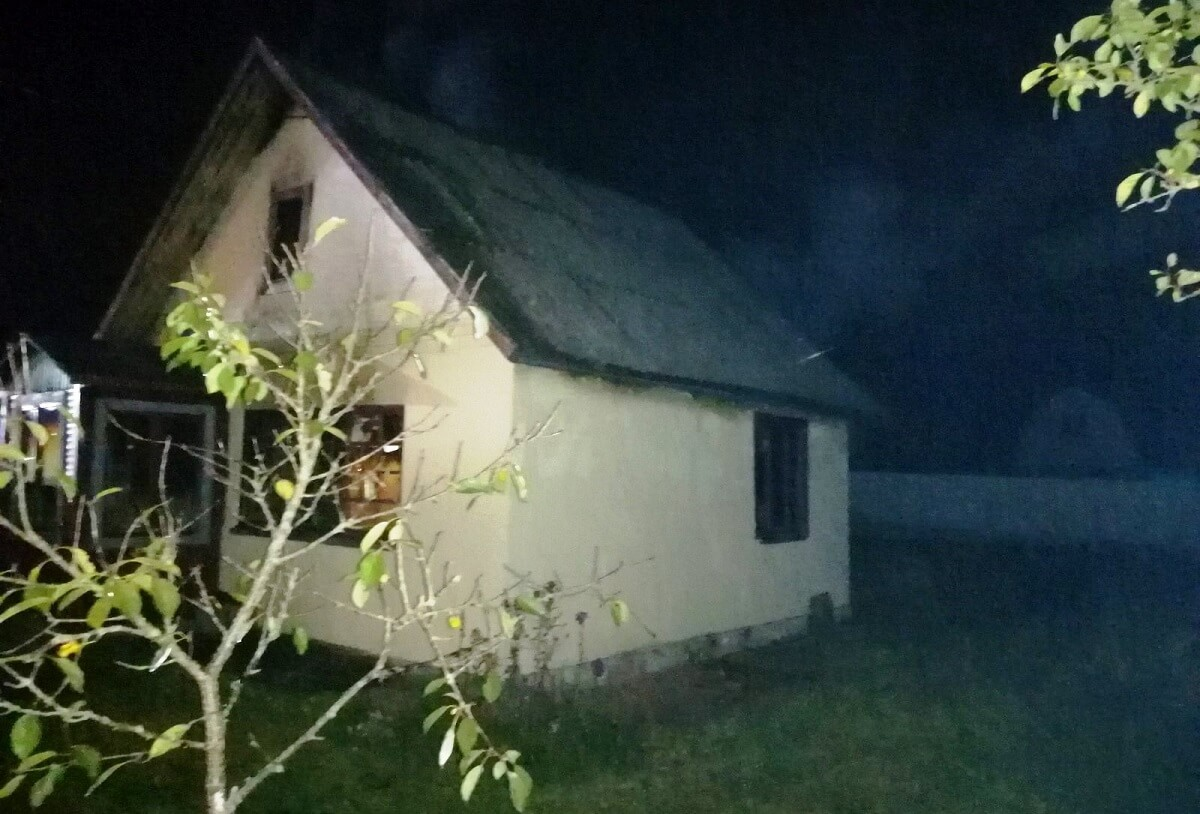 Пожар Черемушки Барановичский район