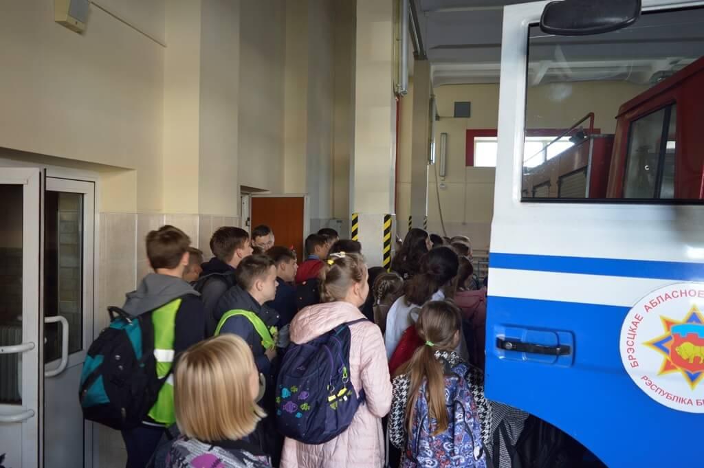 День открытых дверей Барановичский ГРОЧС