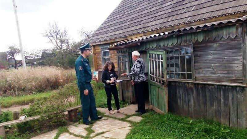 Рейд многодетные семьи и старики Барановичский район