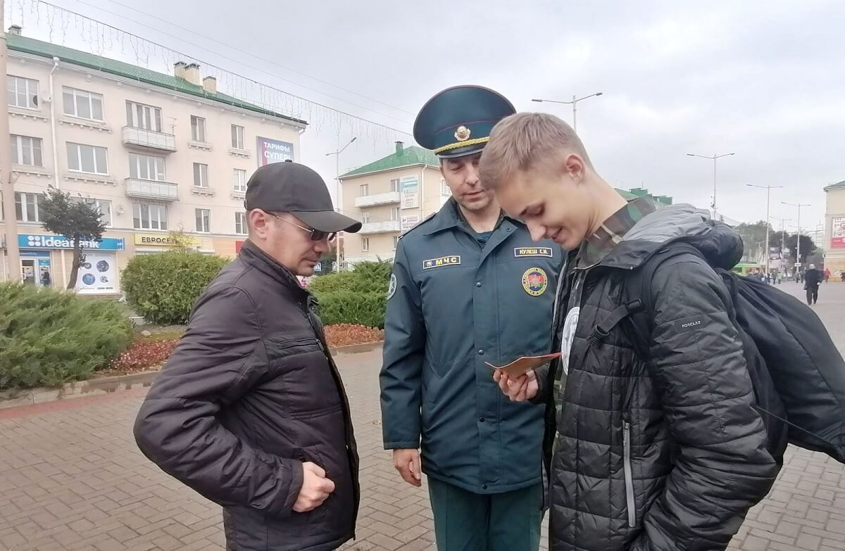 Флешмоб БМООСП Барановичи