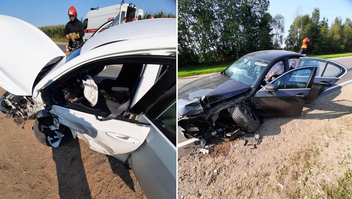 Авария на трассе Р-5 Барановичского района