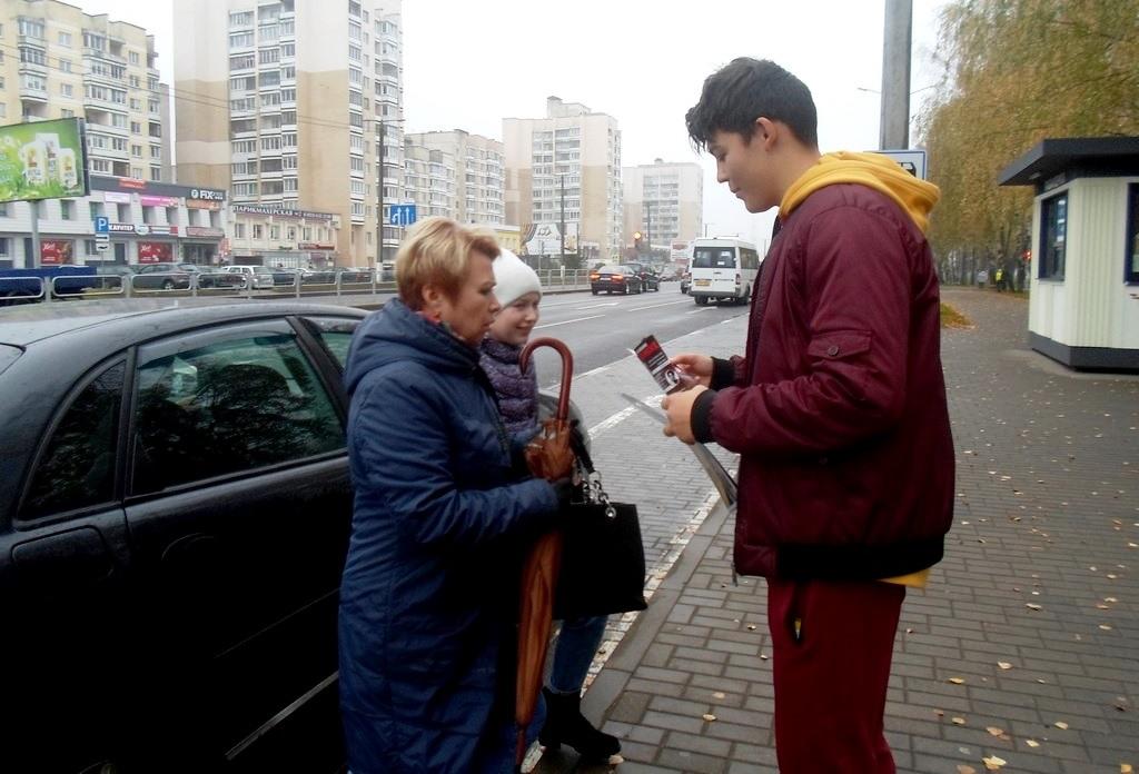 Сш9 и 19 Акция Не прожигай свою жизнь Барановичи