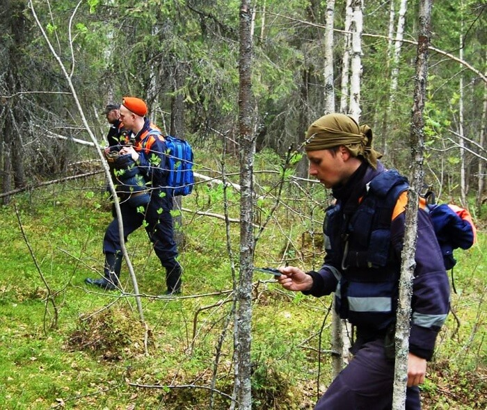 Заблудились в лесу Барановичский район