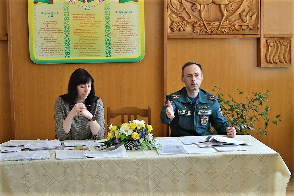 МЧС профилактика Барановичский район