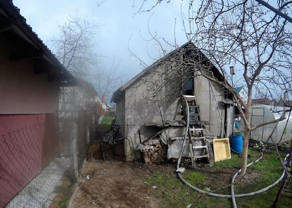 пожар 2-й пер. Славянский Барановичи Барановичи
