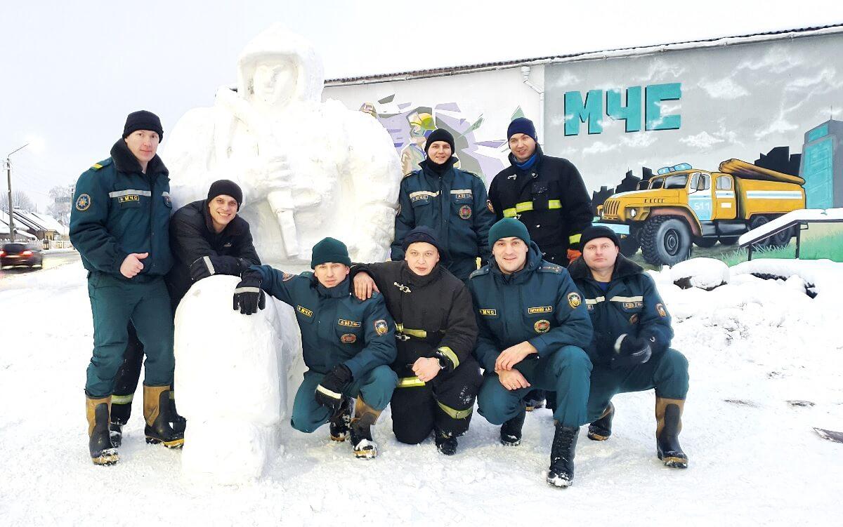 Снежный амулет МЧС Барановичи