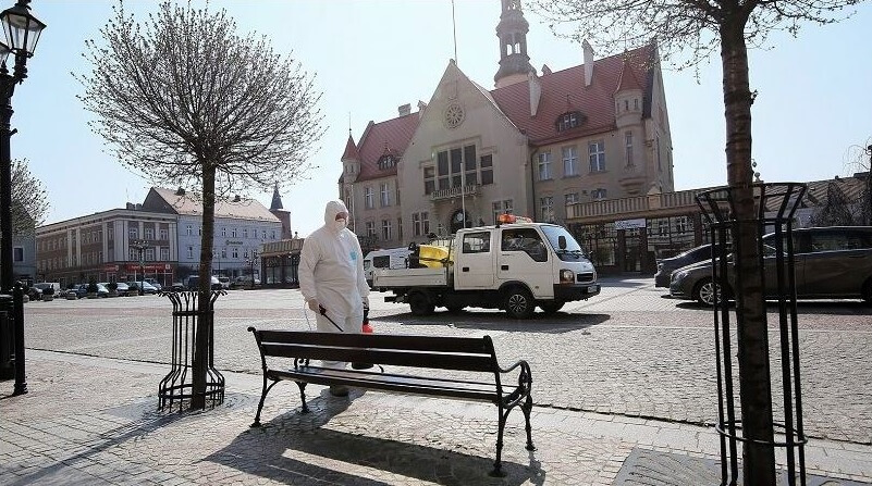 Национальный карантин в Польше